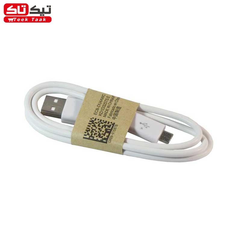 کابل رابط micro USB رنگ سفید |